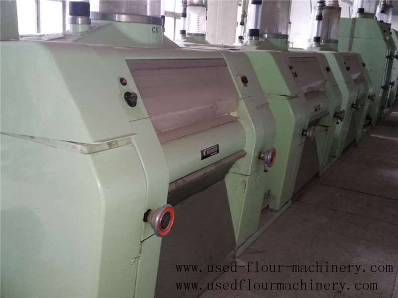Used Rollermills Made By Buhler