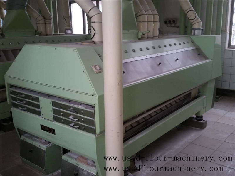 Used Buhler Flour Mill Purifiers