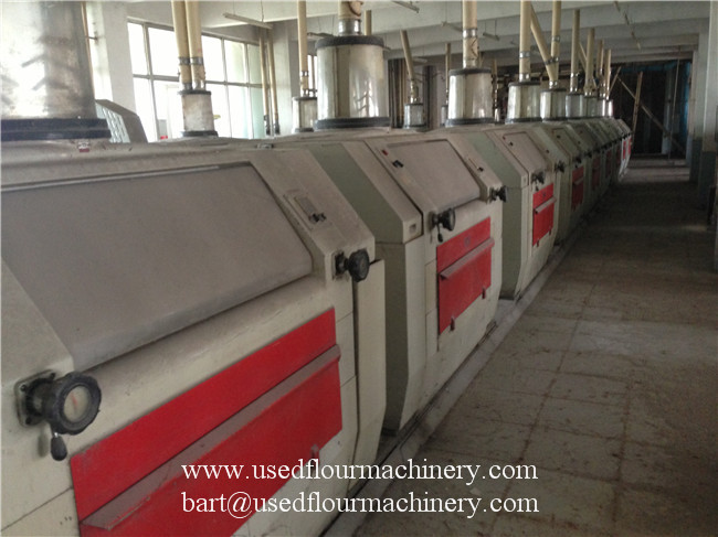 Used Italy Ocrim GBS Flour Mill Roller mills