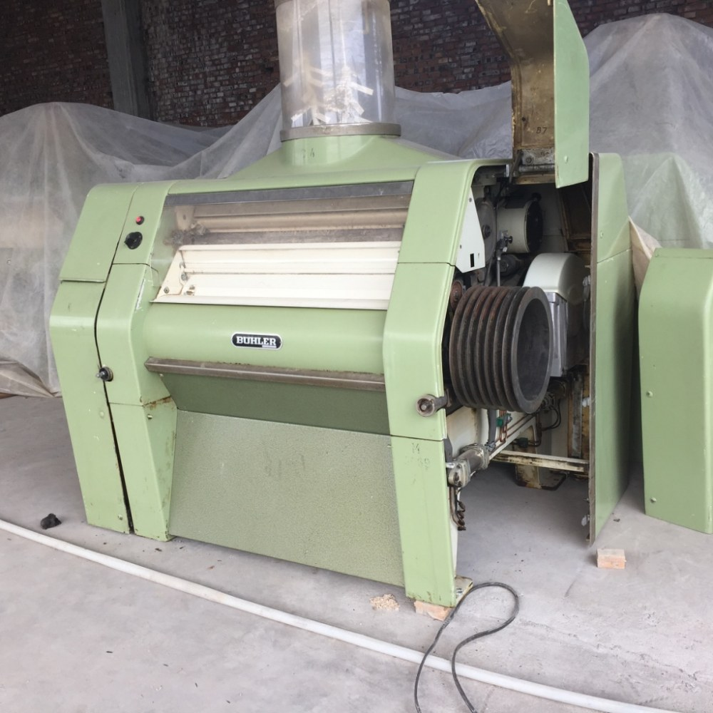 Used Genuine Swiss Buhler MDDK250/1000 Rollermills