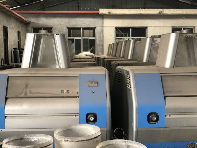 16 pcs Secondhand GBS Roller Mills